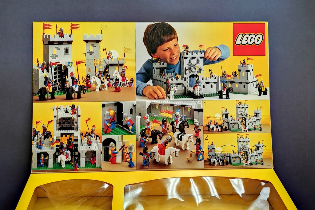 LEGO 6080 Burg Box Innen Inlay