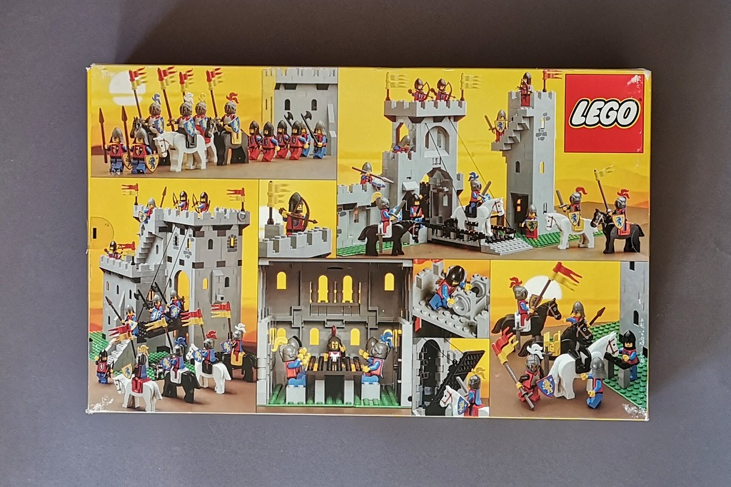 LEGO 6080 Burg Box Rückseite