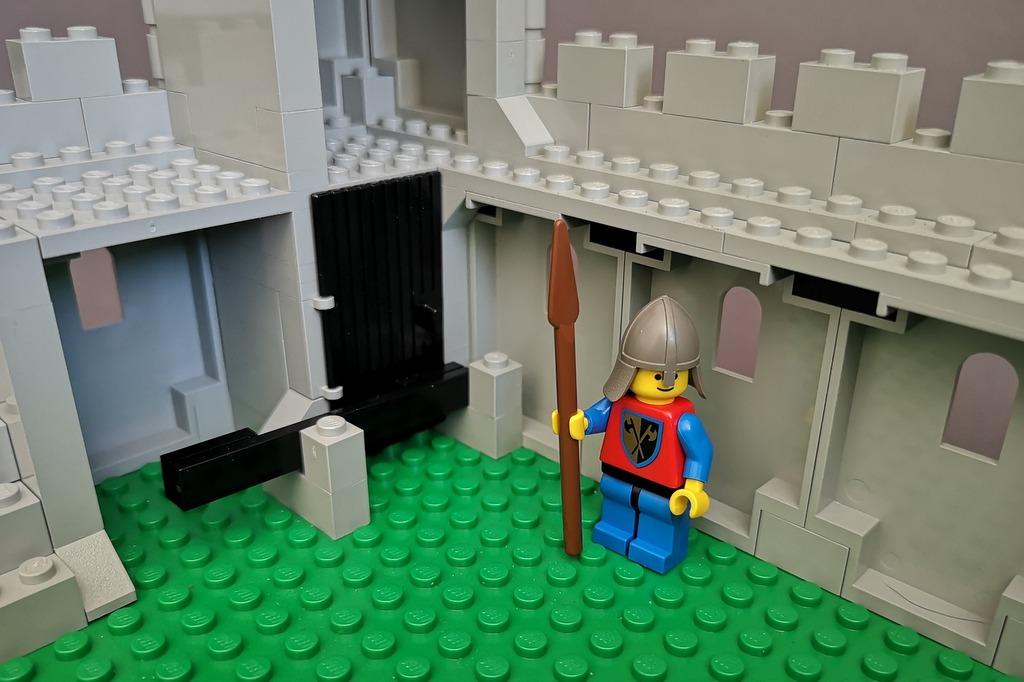 LEGO 6080 Gefängnis Verlies