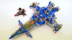 Das ist eine Review zu LEGO Set 70816 - das große Raumschiff von Benny