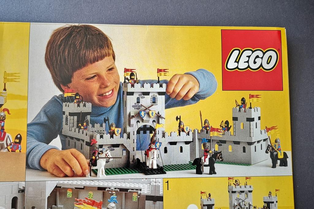 LEGO Burg 6080 Box von 1984