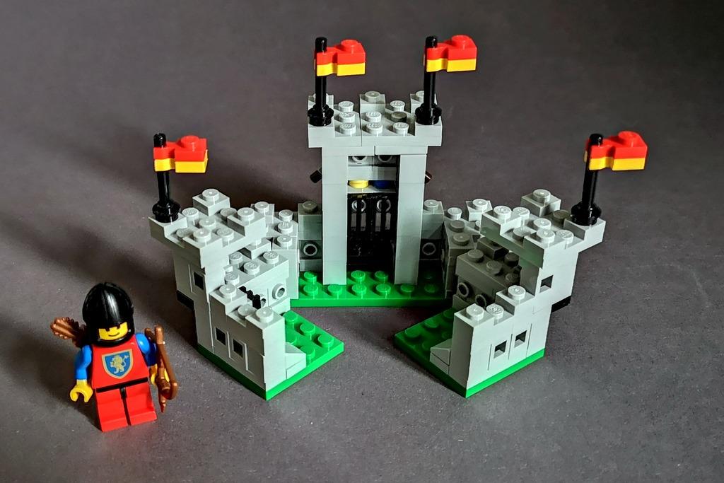 LEGO Burg 6080 Löwenritter