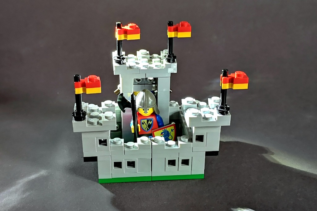 LEGO Burg 6080 min Bauanleitung