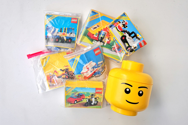 LEGO Einkauf Flohmarkt Leipzig agra