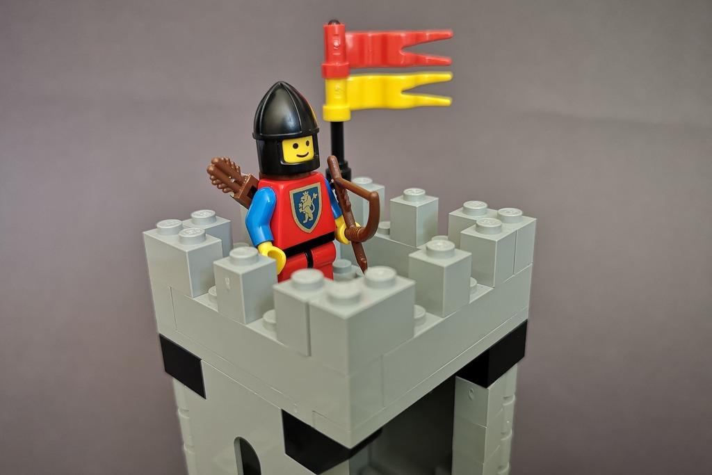 LEGO Löwenritter Bogenschütze