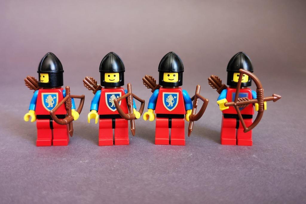 LEGO Löwenritter Bogenschützen
