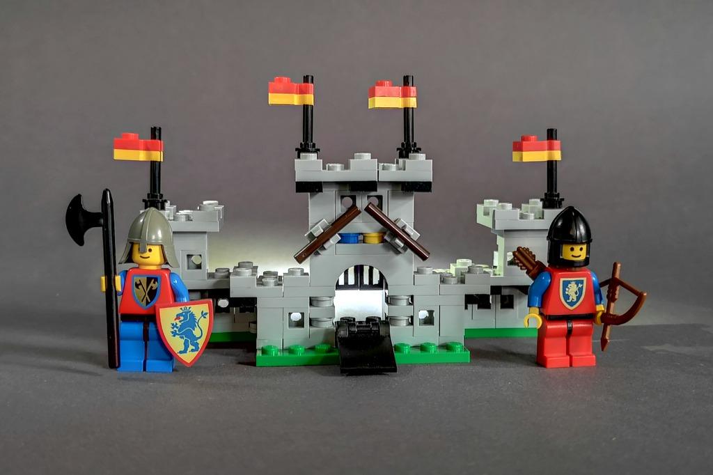 LEGO Löwenritter Minifiguren 6080