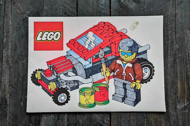 LEGO Malbuch 1994 Cover