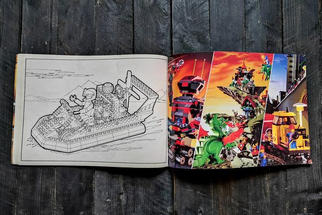 LEGO Malbuch 1994 Seite 18 und Seite 19