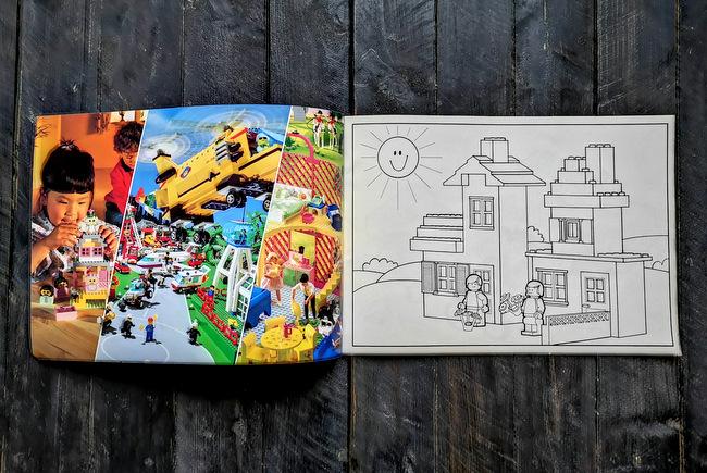 LEGO Malbuch 1994 Seite 2 und Seite 3