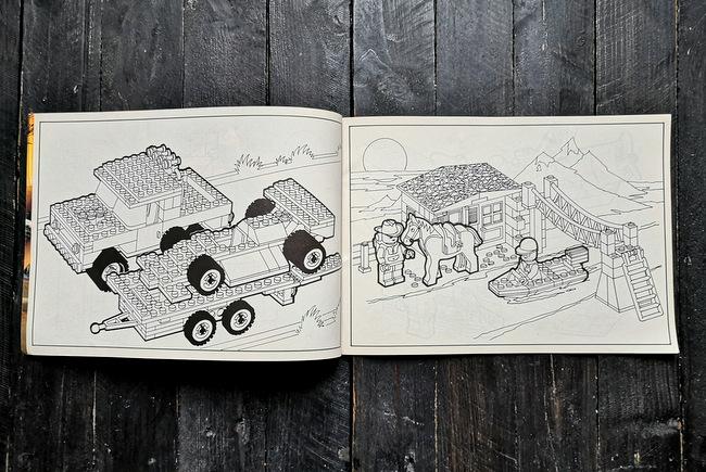 LEGO Malbuch 1994 Seite 4 und Seite 5