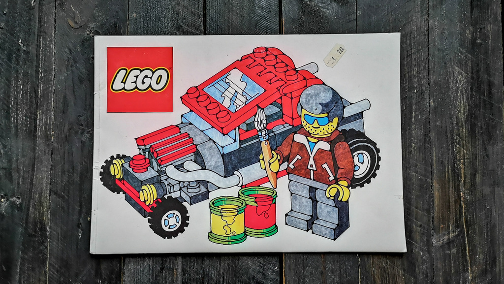 LEGO Malbuch Review 1994 mit free Download
