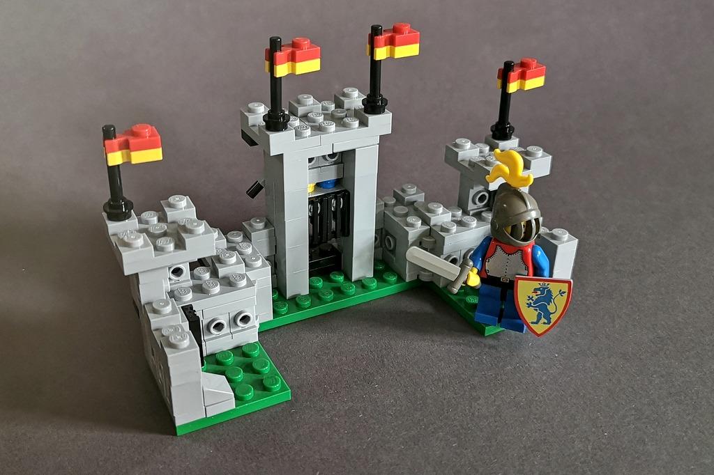 LEGO Ritter Burg 6080