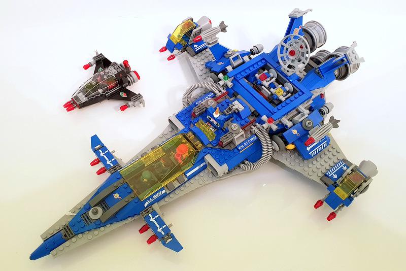LEGO Set 70816 Ansicht von oben