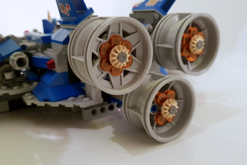 LEGO Set 70816 Raketentriebwerk