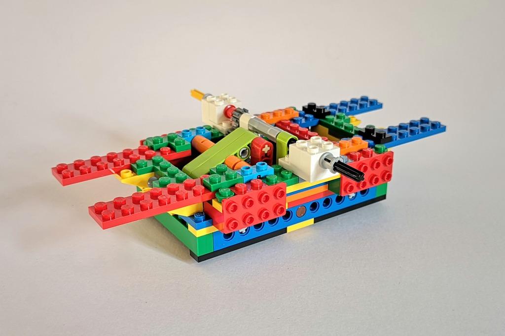 Lego 21317 Aufbau Schritt 41