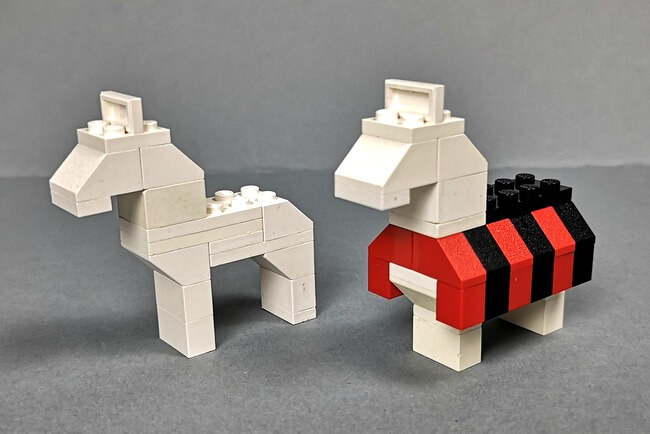 vergleich-lego-pferde-set-375-und-set-383